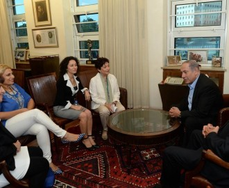 PM Netanyahu & Women Wage Peace