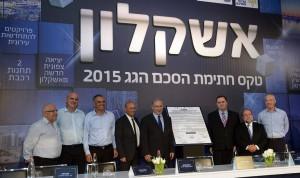 Bibi Oct 29 2015 2 Ashkelon Construction