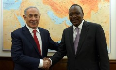 Bibi & Kenyan Leader 3