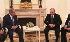 Bibi meets Putin