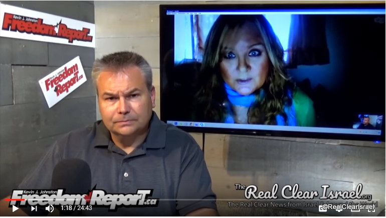 Leslie of Real Clear Israel - FreedomReport.ca Media Appearance