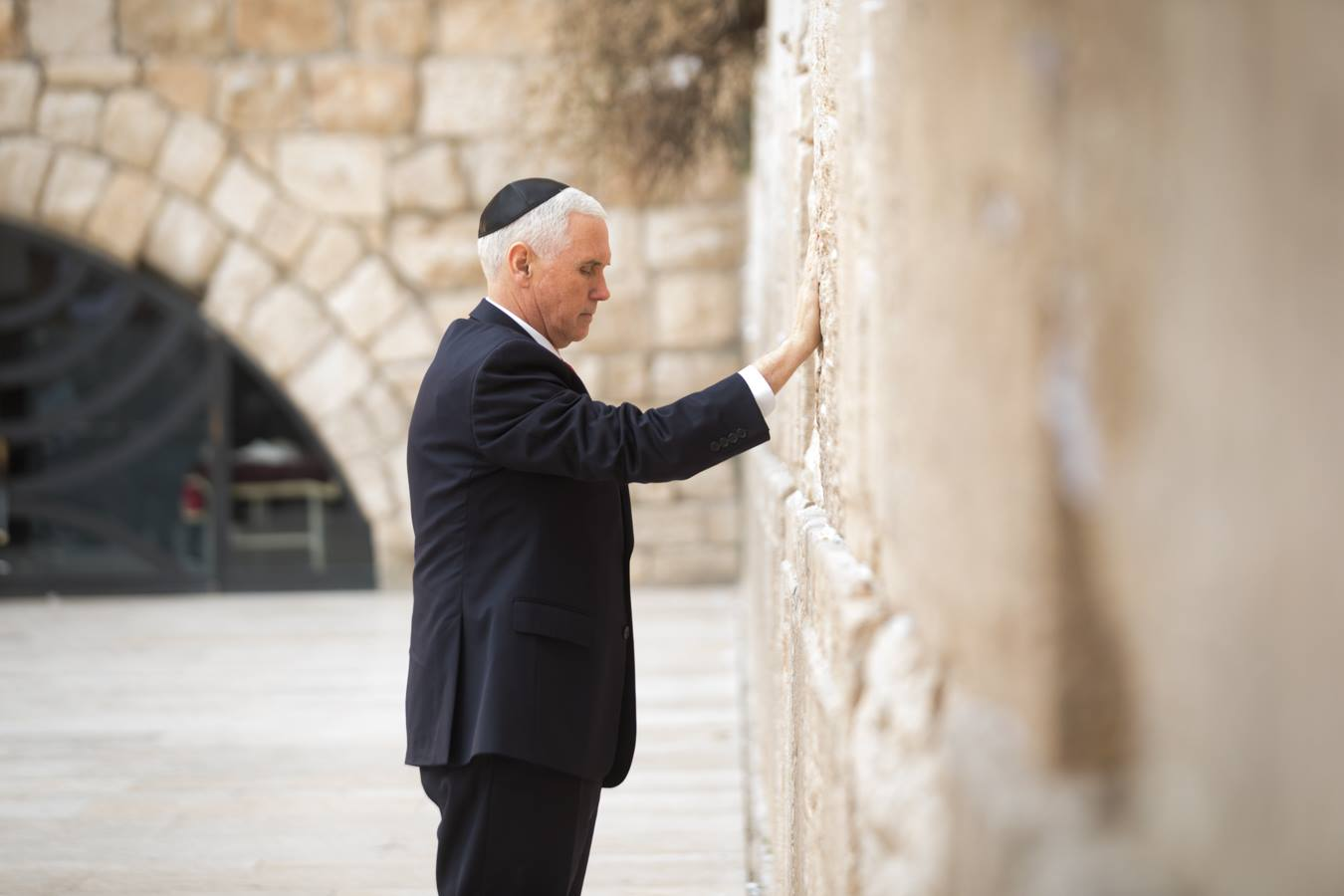 Real Clear Israel: Vice President Mike Pence Visits Yad Vashem & The Western Wall in Jerusalem
